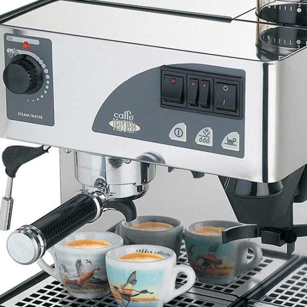 Use espresso machine for tea